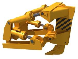 excavator bucket 3D