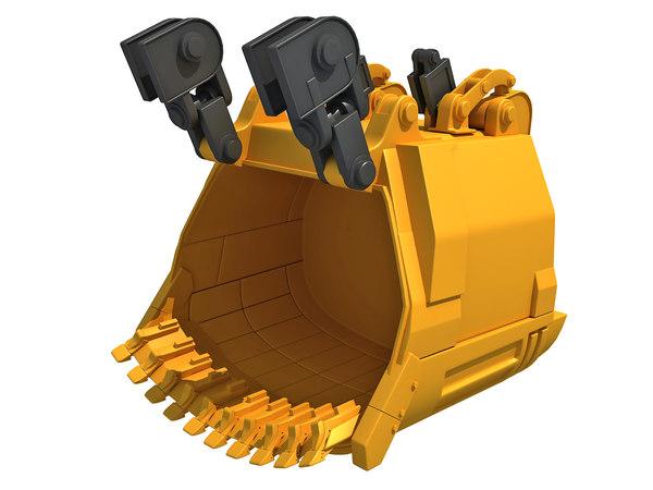 excavator bucket model