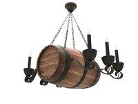 Barrel Lamp 3D model