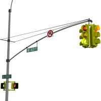 3D traffic light