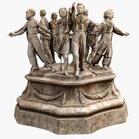3D model scan soviet monument