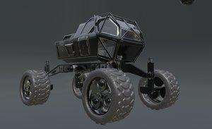 mars rover planet explorer 3D