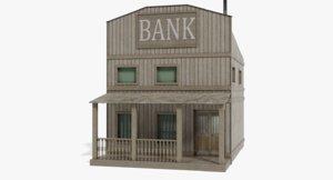 3D bank western