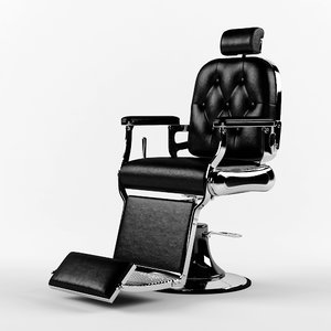 barbershop chair 3D model