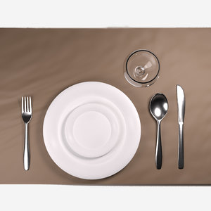 3D tableware cutlery model