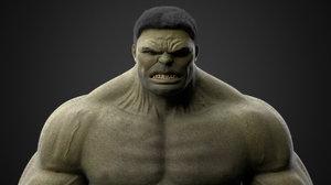 3D hulk