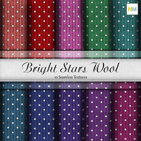 Bright stars wool Seamless Fabric Textures