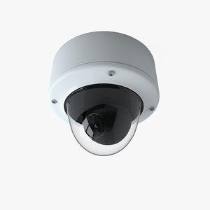 cctv dome camera 3D model