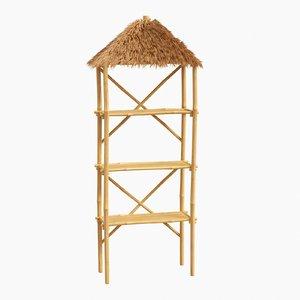 bamboo shelf 3D model