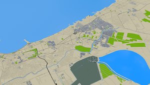 3D model egypt mapping