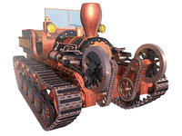 3D tractor steam