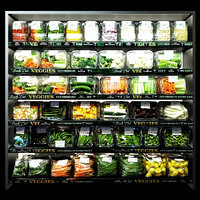 3D vegetables shelves