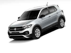 3D volkswagen t-cross basic 2020