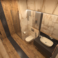 photorealistic bathroom interior - 3D