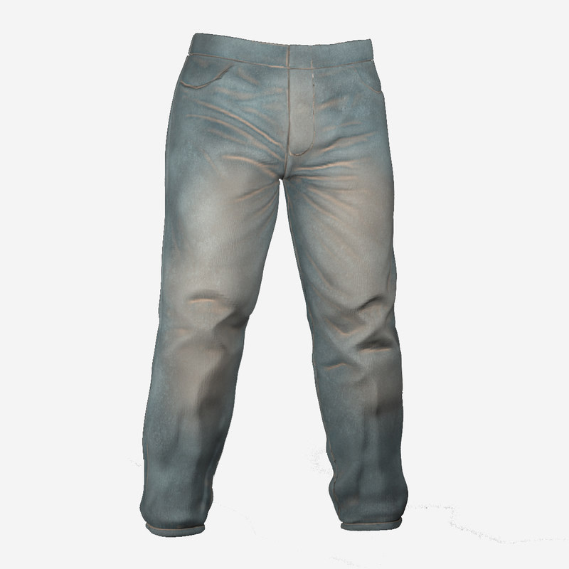 trousers games 3D model