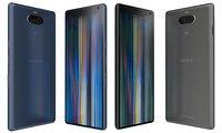 sony xperia 10 colors 3D