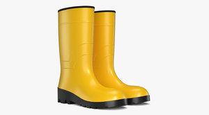 boots rubber 3D model