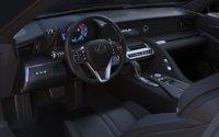 Interior Lexus car