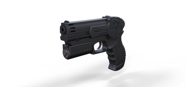 pistol movie 3D