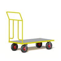 yellow market trolley 3D