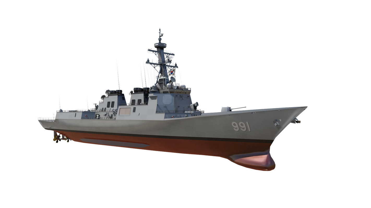 ddg-991 sejong great model