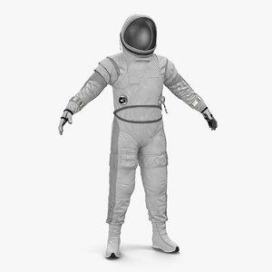 3D spacesuit space sci-fi