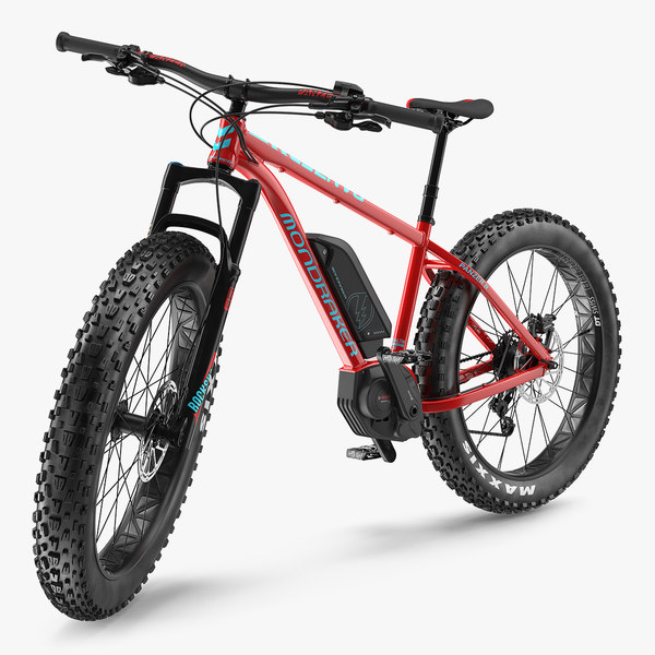 3D mondraker panzer electric trail model