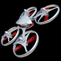 3D quadrocopter