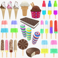 3D model ice cream 2