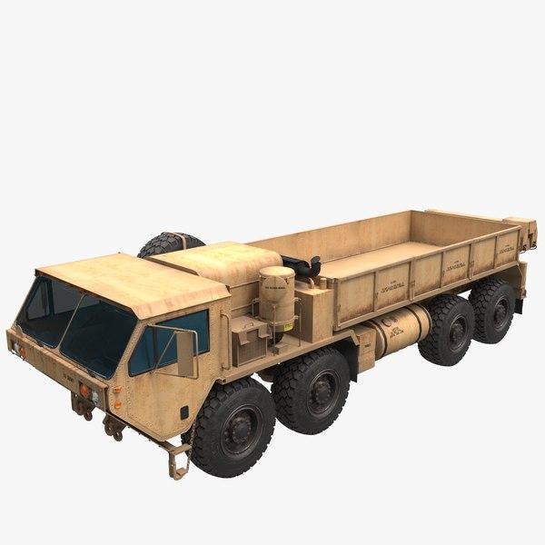 cargo truck oshkosh hemtt 3D