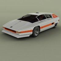 1976 alfa romeo navajo 3D model