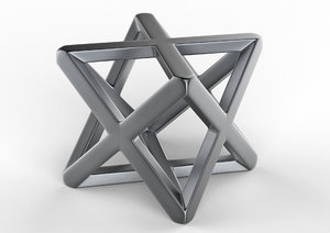 3D geometric metal geometry model