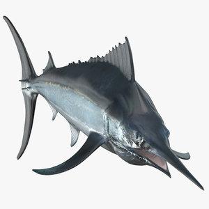 black marlin 3D model