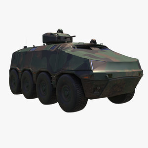 3D modern concept armored