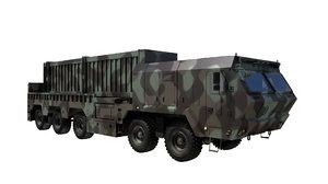 3D missile hyeonmu2 launch vehicle