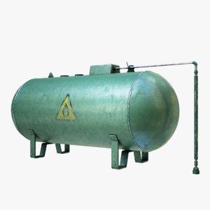 lightwave industrial gas tank model