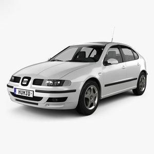 3D model seat leon 1998