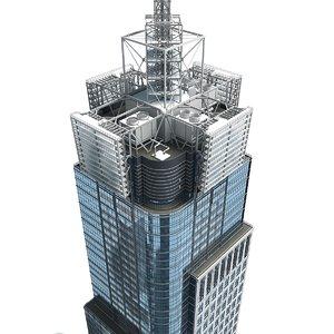 3D 4 building architecture