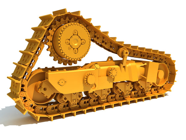 excavator track 3D
