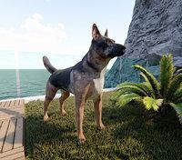 shepherd dog model