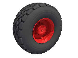 road wheel 3D
