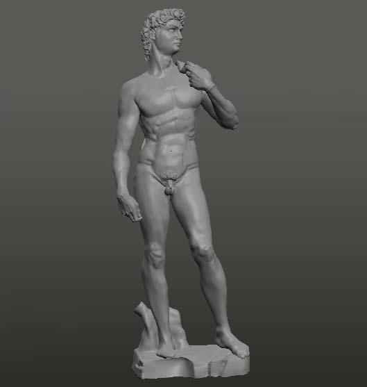 3D david miguel model