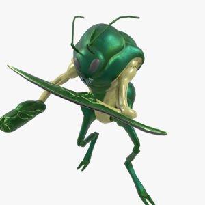 antman games 3D model