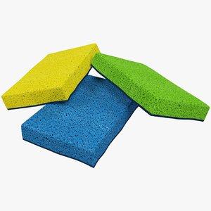 3D sponges sets