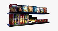 Grocery Shelf Chips Coffee