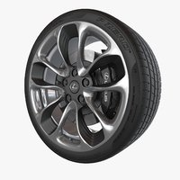lexus wheel 3D model