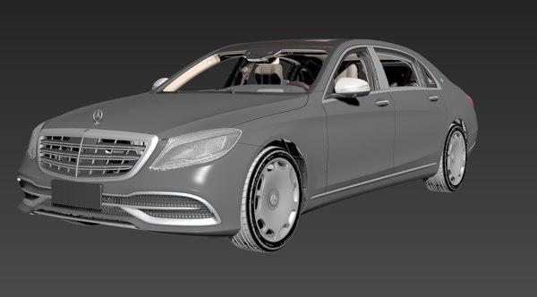3D maybach s680