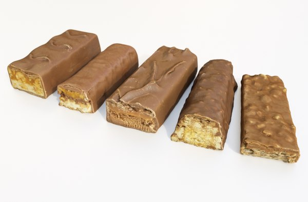 chocolate bars 3D model