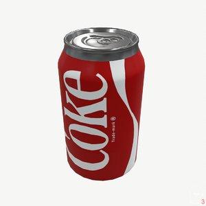 coke modeled model