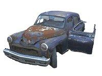 car wreck 16k 3D model